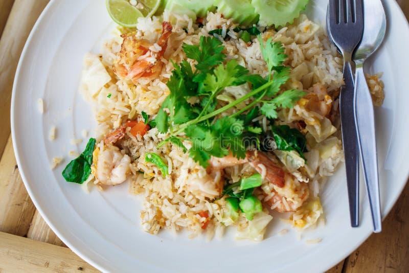 Ρύζι με τα θαλασσινά στοκ εικόνα με δικαίωμα ελεύθερης χρήσης