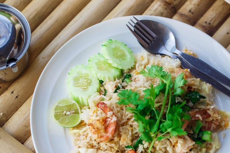 Ρύζι με τα θαλασσινά στοκ φωτογραφία