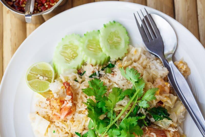 Ρύζι με τα θαλασσινά στοκ φωτογραφίες