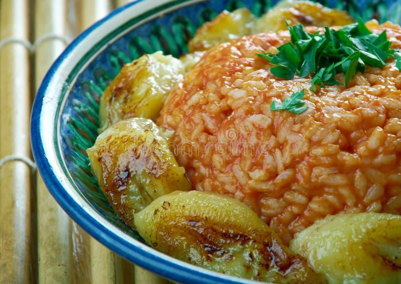 Ρύζι Jollof στοκ φωτογραφία με δικαίωμα ελεύθερης χρήσης
