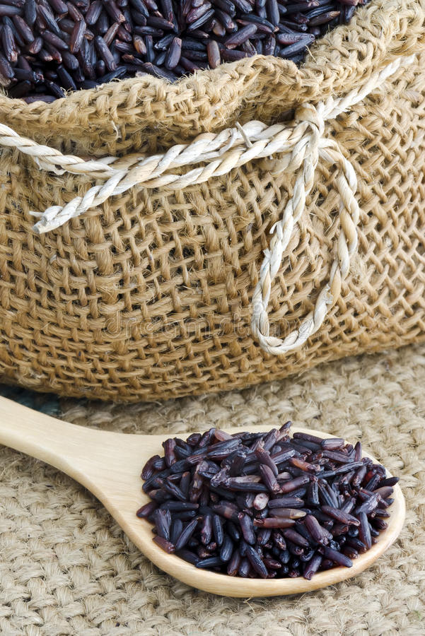Ρύζι Riceberry στοκ φωτογραφίες με δικαίωμα ελεύθερης χρήσης