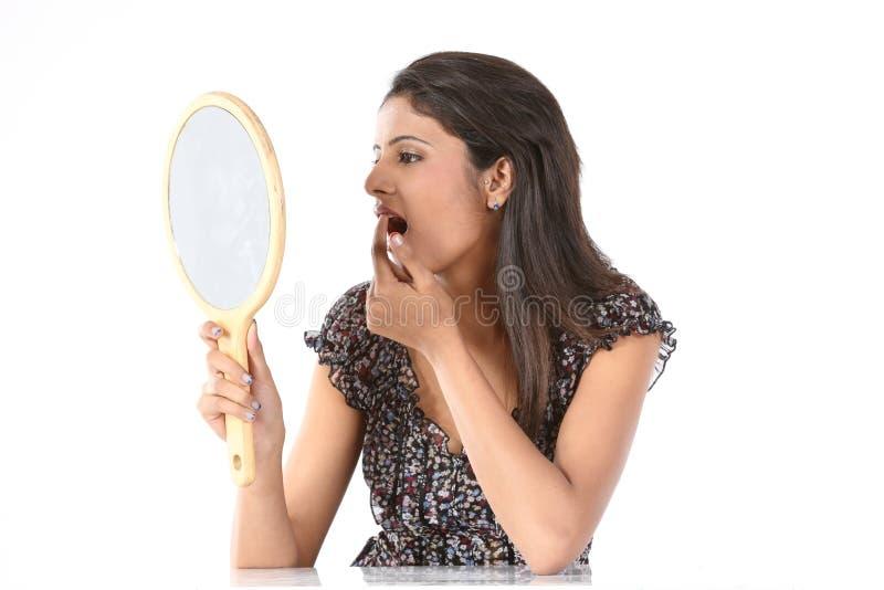 ρύθμιση του κραγιόν της makeup mir &p στοκ εικόνες