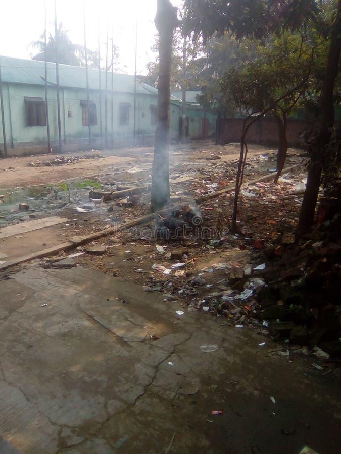 Ρύπανση περιβάλλοντος στοκ φωτογραφίες με δικαίωμα ελεύθερης χρήσης