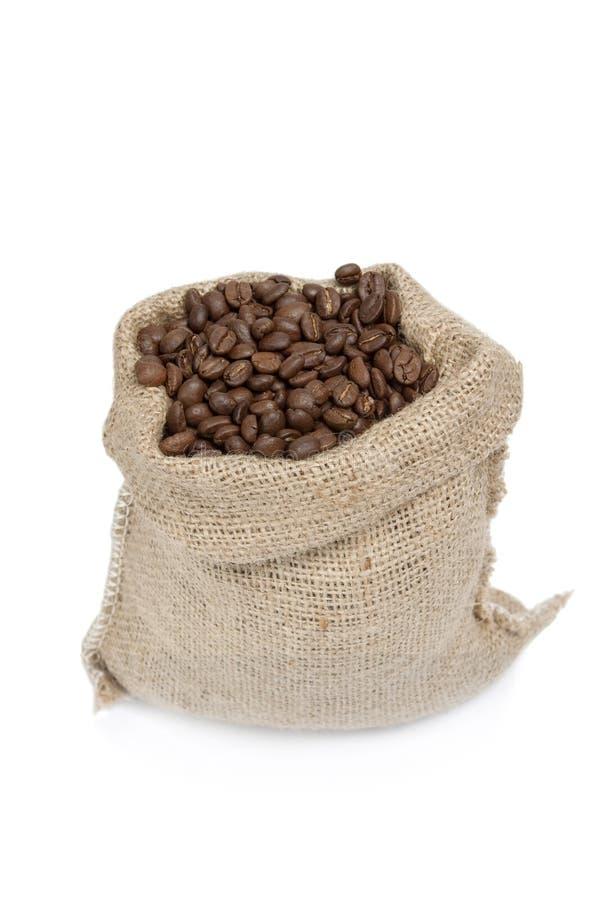σάκος καφέ φασολιών στοκ εικόνα