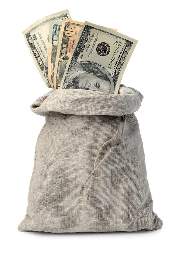 σάκος χρημάτων στοκ εικόνα
