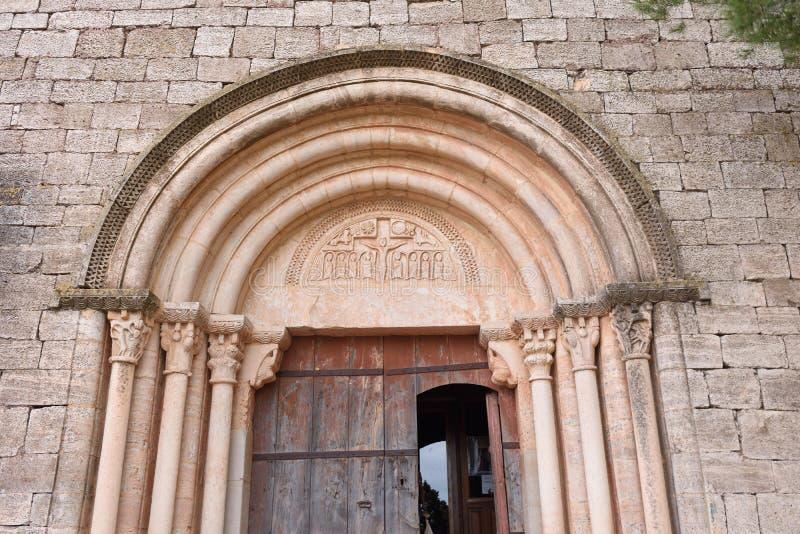 Σάντα Μαρία de Siurana, EL Priorat, Tarragona provinc στοκ εικόνες