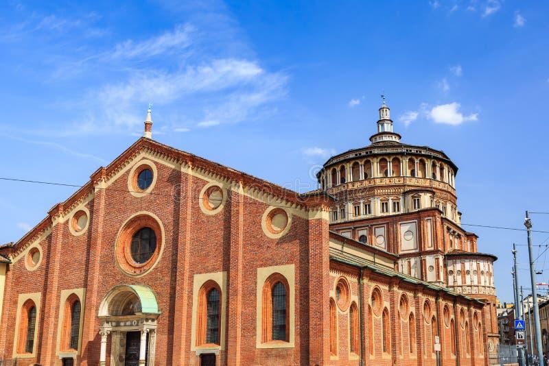 Σάντα Μαρία delle grazie η ιερή Mary της Grace στοκ φωτογραφίες