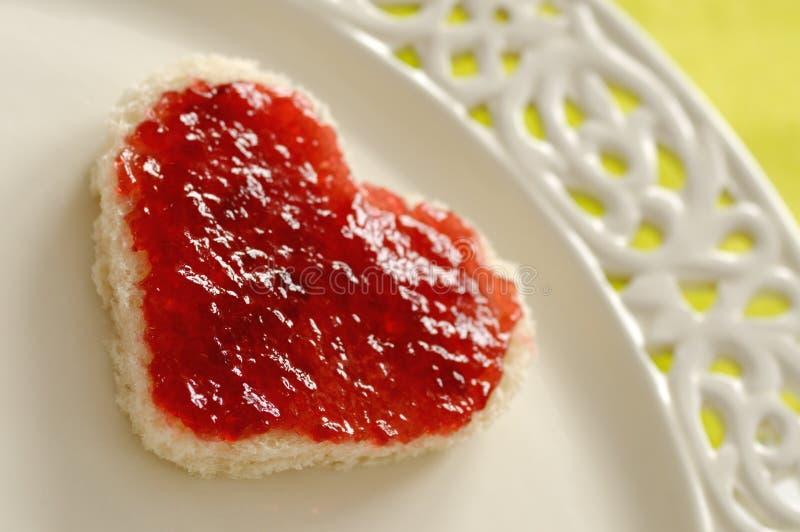 σάντουιτς αγάπης στοκ εικόνες με δικαίωμα ελεύθερης χρήσης
