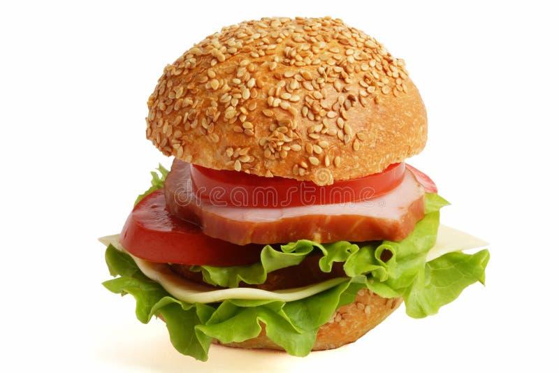 σάντουιτς δύο παραλλαγή στοκ εικόνα με δικαίωμα ελεύθερης χρήσης