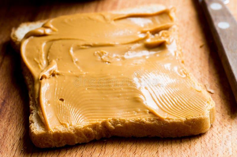 Σάντουιτς με το φυστικοβούτυρο στοκ εικόνα με δικαίωμα ελεύθερης χρήσης