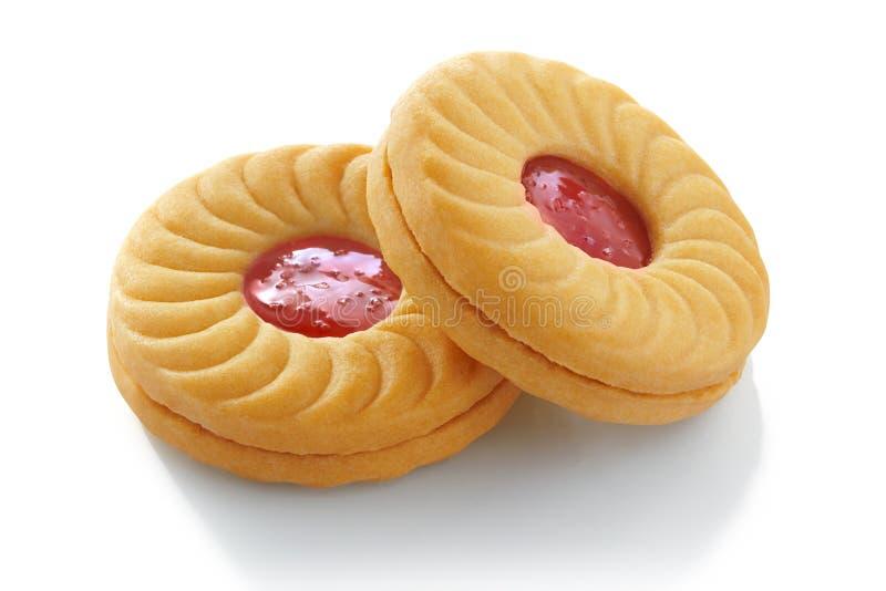Σάντουιτς μπισκότων στοκ εικόνες