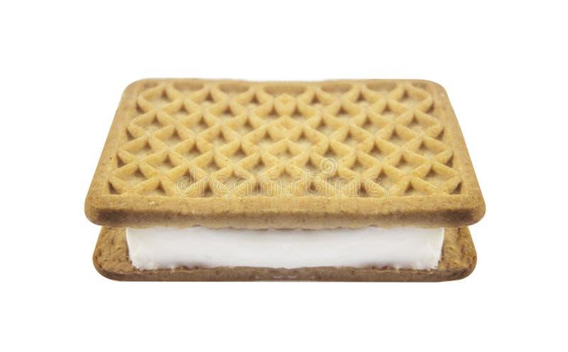 Σάντουιτς παγωτού στοκ εικόνες