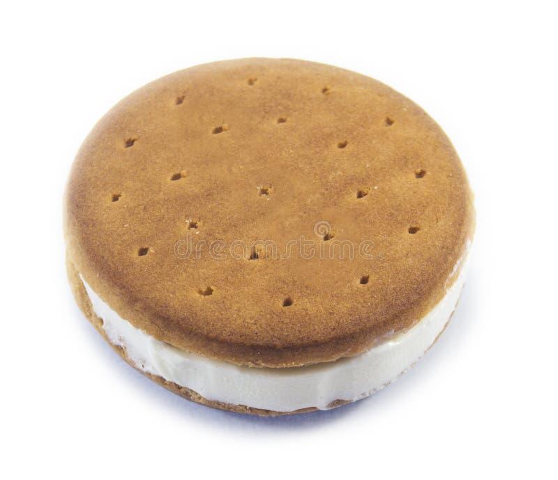 Σάντουιτς παγωτού στοκ εικόνα με δικαίωμα ελεύθερης χρήσης
