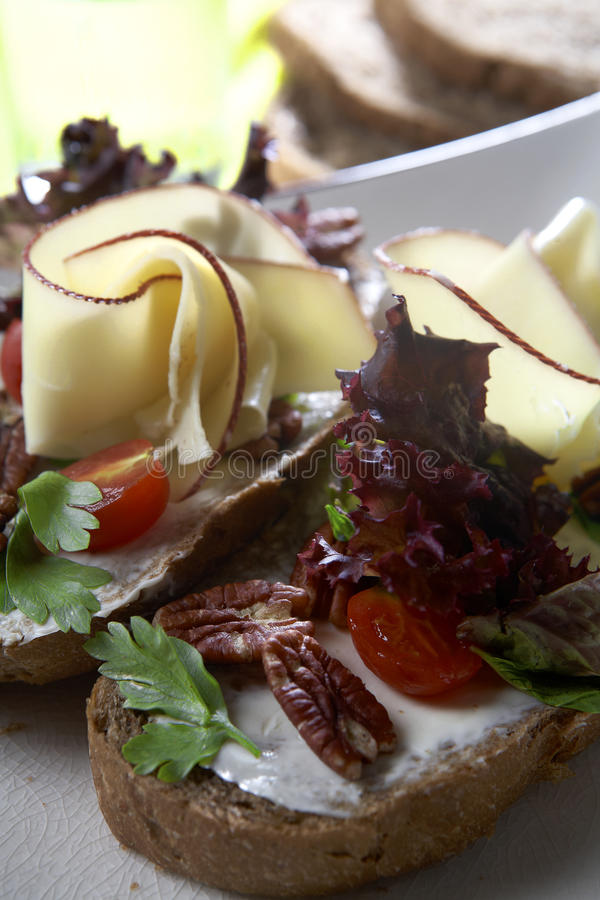 σάντουιτς τυριών στοκ εικόνα με δικαίωμα ελεύθερης χρήσης