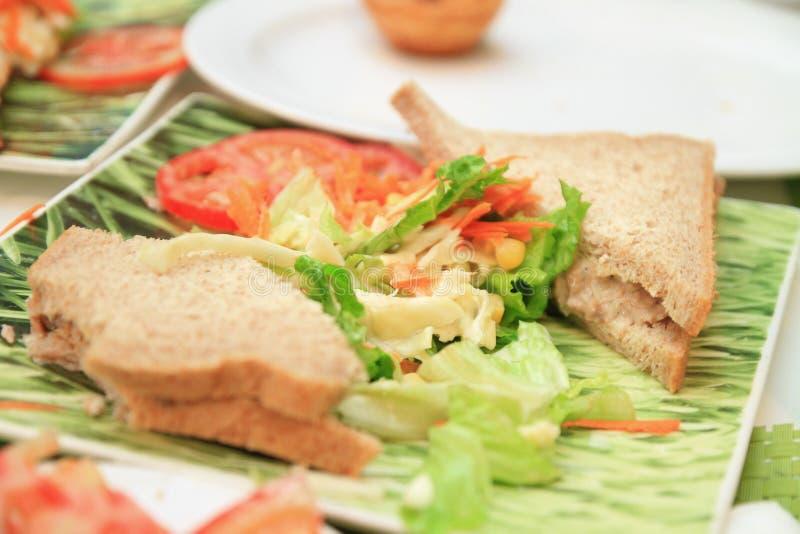 Σάντουιτς ψωμιού στοκ εικόνες