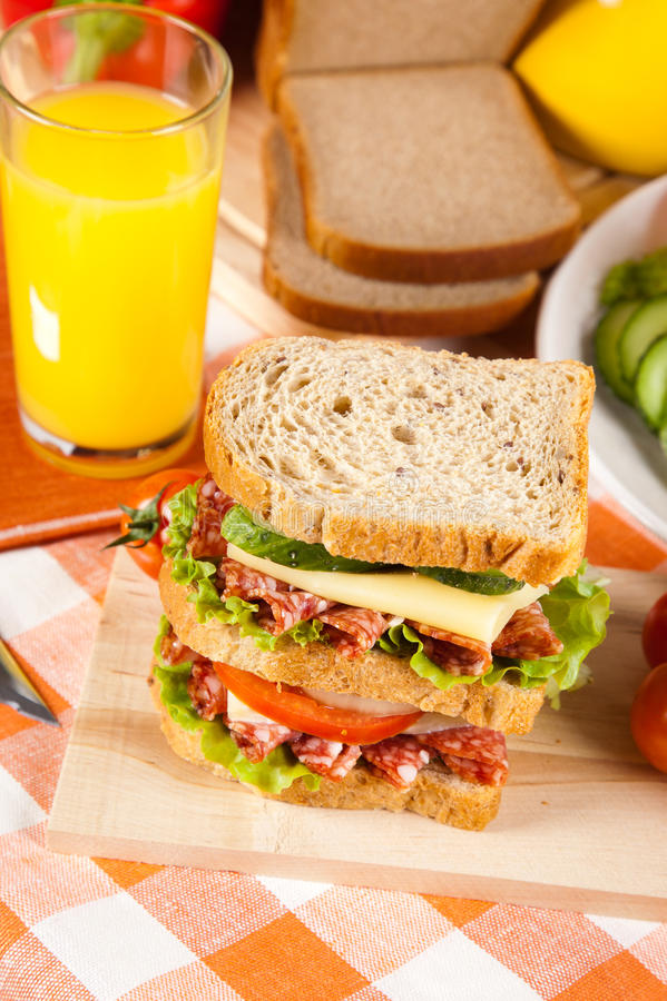 Download σάντουιτς στοκ εικόνα. εικόνα από τρόφιμα, μουστάρδα - 22796765
