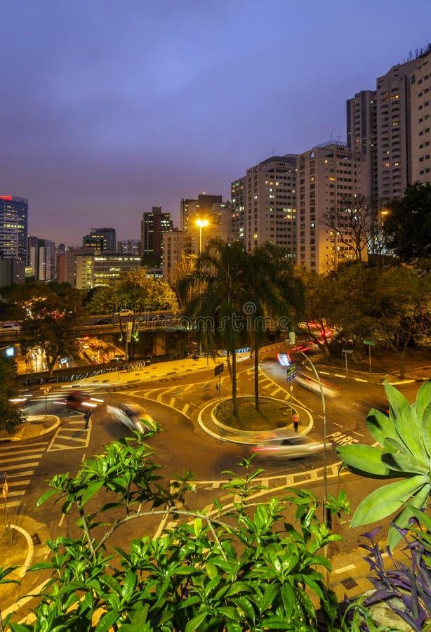 Σάο της Βραζιλίας Paulo στοκ φωτογραφία