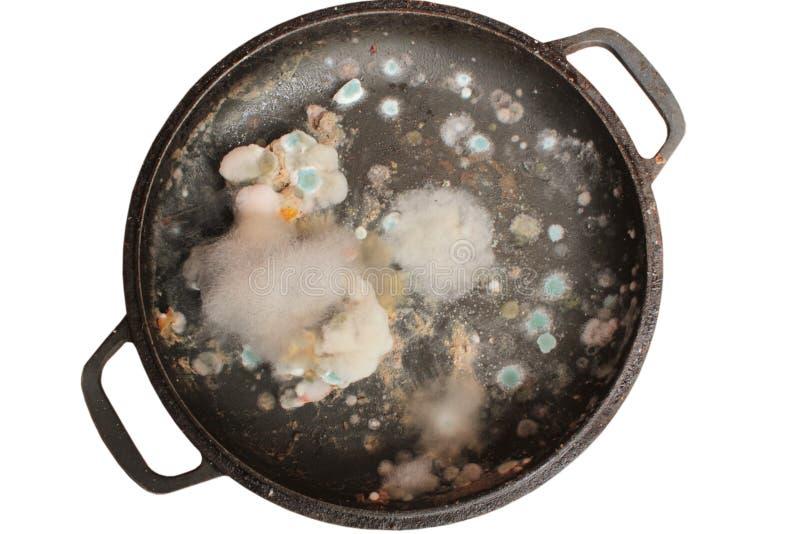 Σάπια και moldy κινηματογράφηση σε πρώτο πλάνο τροφίμων στοκ φωτογραφία