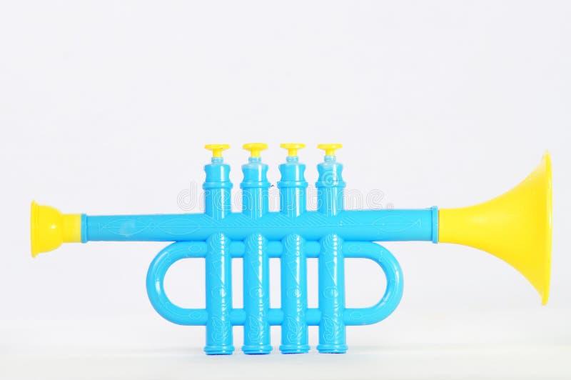 Σάλπιγγα παιχνιδιών στοκ φωτογραφία με δικαίωμα ελεύθερης χρήσης