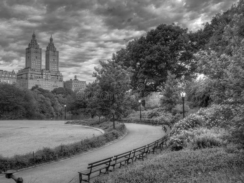 Σέντραλ Παρκ, Νέα Υόρκη στη λίμνη στοκ φωτογραφίες με δικαίωμα ελεύθερης χρήσης