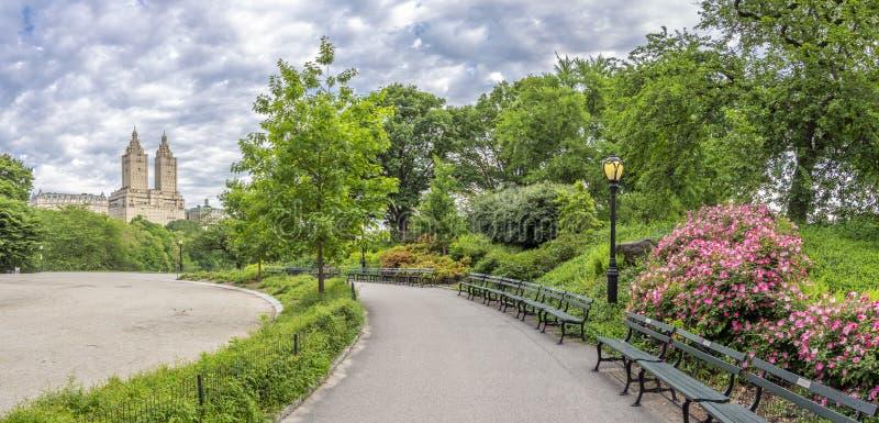 Σέντραλ Παρκ, Νέα Υόρκη στη λίμνη στοκ εικόνες με δικαίωμα ελεύθερης χρήσης