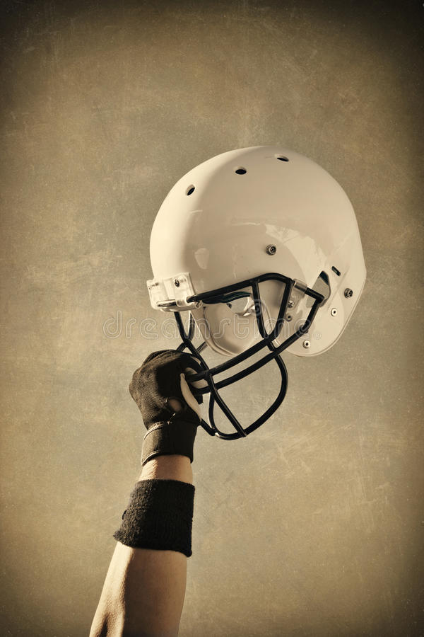 σέπια κρανών ποδοσφαίρου &p στοκ εικόνα με δικαίωμα ελεύθερης χρήσης
