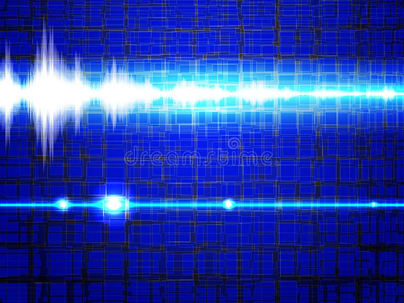 Σήμα ήχου απεικόνιση αποθεμάτων