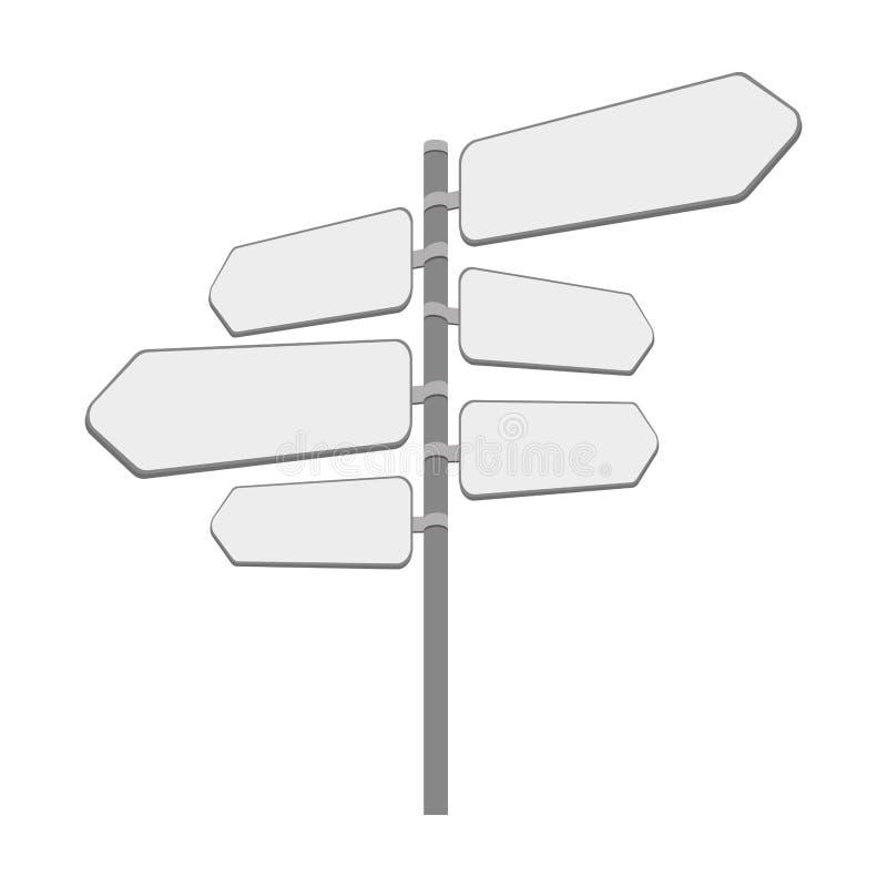 Σήμα με το εικονίδιο βελών απεικόνιση αποθεμάτων