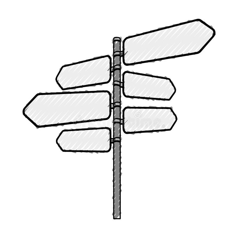 Σήμα με το εικονίδιο βελών ελεύθερη απεικόνιση δικαιώματος