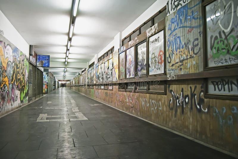 σήραγγα γκράφιτι στοκ φωτογραφία με δικαίωμα ελεύθερης χρήσης