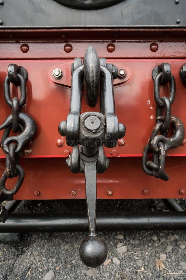 Σίδηρος σύνδεσης από ένα τραίνο στοκ εικόνα