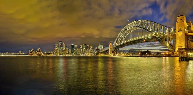 Σίδνεϊ, Αυστραλία - το Σεπτέμβριο του 2016 circa: Άποψη σημαντικών ορόσημων στο Σίδνεϊ από την άποψη Kirribilli στοκ φωτογραφία