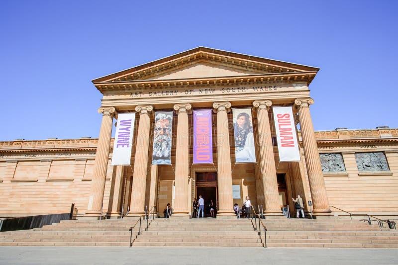ΣΊΔΝΕΪ - 12 Οκτωβρίου: Το γκαλερί τέχνης της Νότιας Νέας Ουαλίας είναι το κύριο Μουσείο Τέχνης στη Νότια Νέα Ουαλία και το Σίδνεϊ στοκ φωτογραφία
