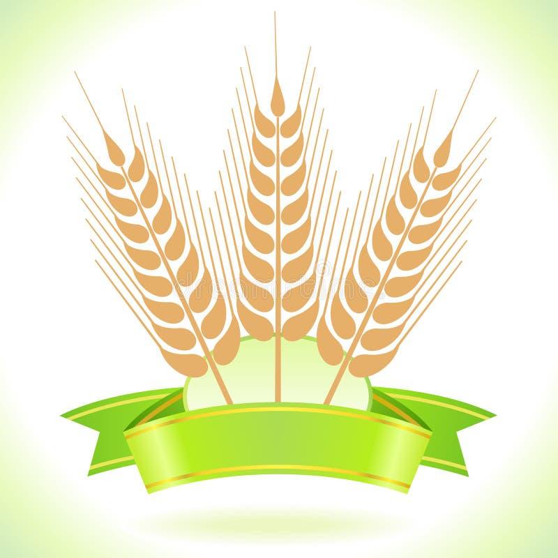 σίτος ετικετών σιταριού ελεύθερη απεικόνιση δικαιώματος