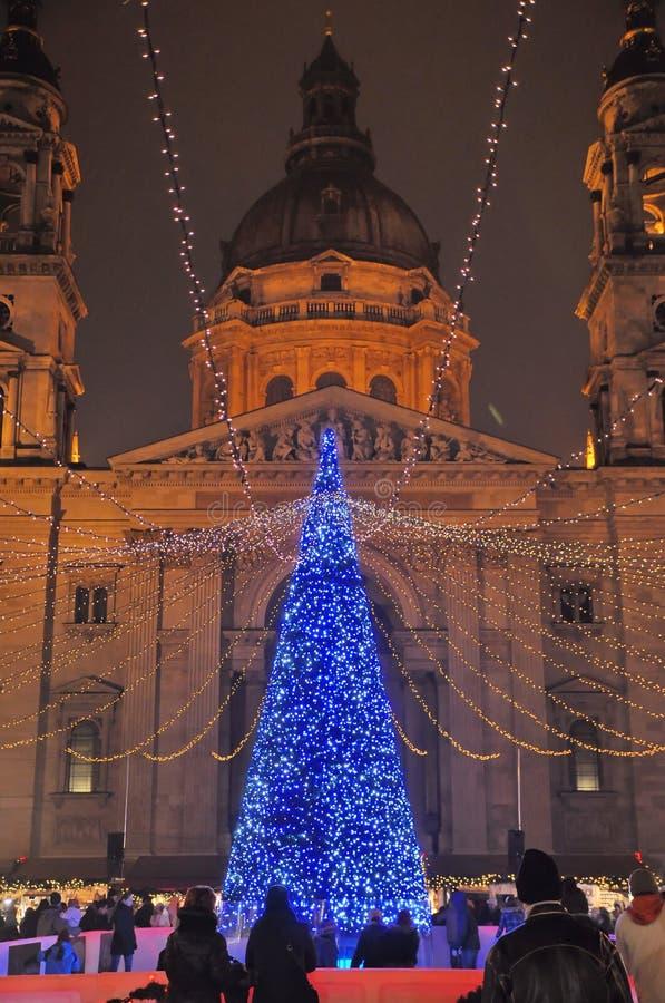 Σαββατοκύριακο σε Budaopest πριν από τα Χριστούγεννα στοκ φωτογραφία με δικαίωμα ελεύθερης χρήσης