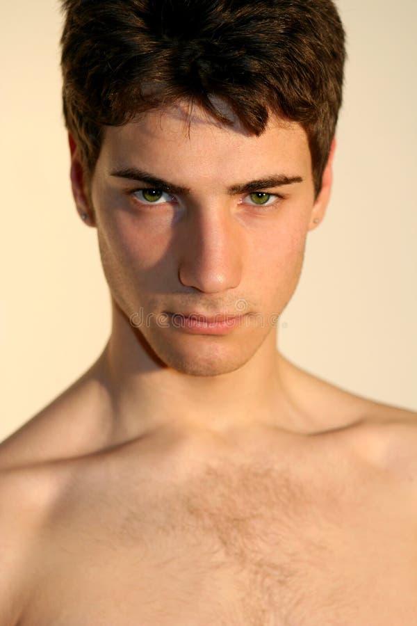 Σαγηνευτικά προκλητικά άτομα/όμορφο ιταλικό μοντέλο στοκ εικόνες