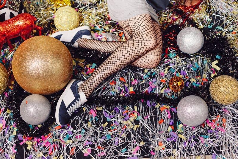 Σαγηνευτικά πόδια γυναικών στοκ εικόνες