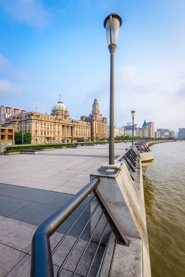Σαγκάη, Κίνα στο φράγμα στοκ εικόνα