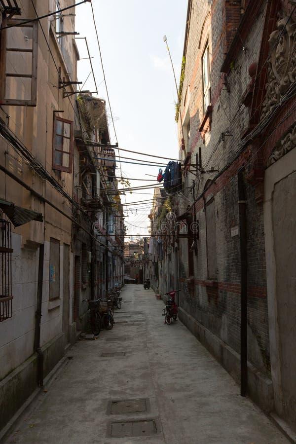 Σαγκάη Shikumen - narrowlane στοκ εικόνες