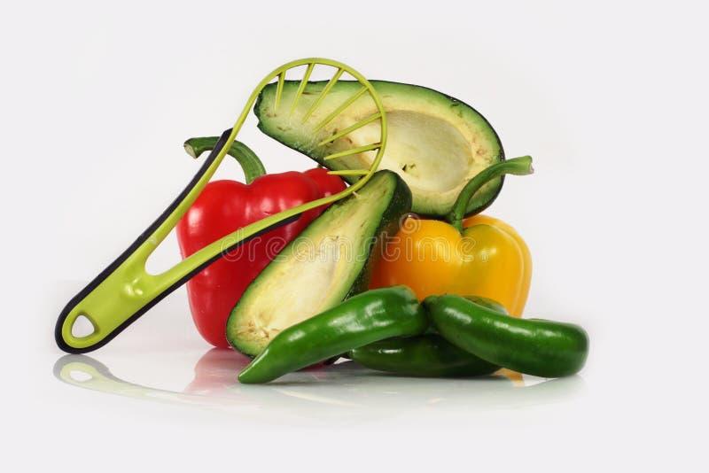 σαλάτα αβοκάντο στοκ φωτογραφίες με δικαίωμα ελεύθερης χρήσης