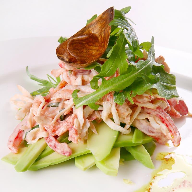 Σαλάτα θαλασσινών στοκ φωτογραφία