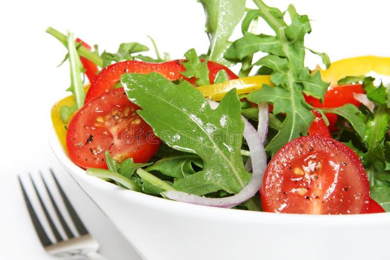 σαλάτα που πετιέται στοκ φωτογραφία με δικαίωμα ελεύθερης χρήσης