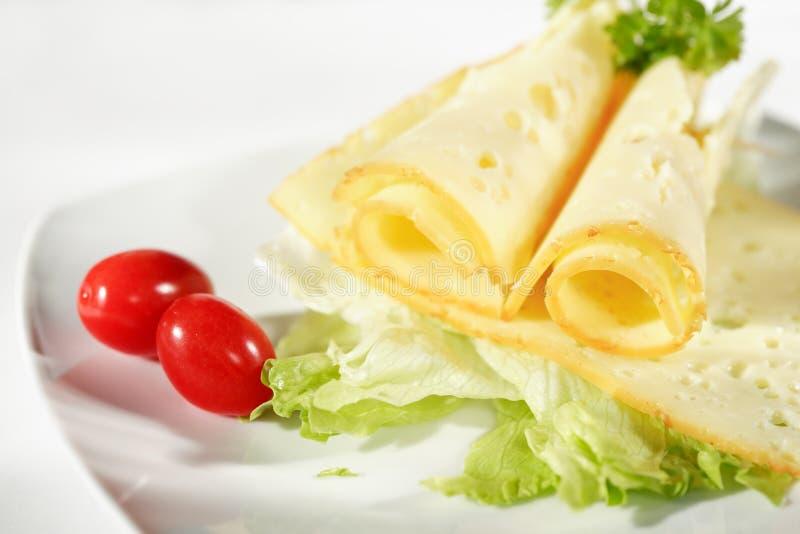 σαλάτα τυριών στοκ εικόνες με δικαίωμα ελεύθερης χρήσης