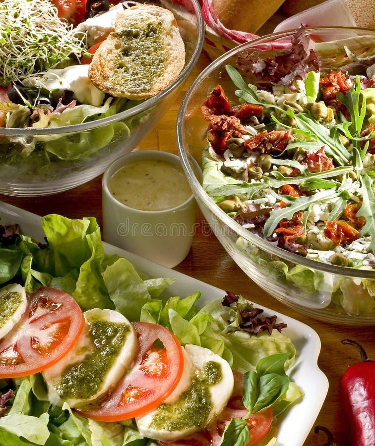 σαλάτες στοκ εικόνες με δικαίωμα ελεύθερης χρήσης