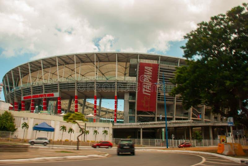 ΣΑΛΒΑΔΟΡ, ΒΡΑΖΙΛΙΑ: Nova Fonte, στάδιο σε Bahia στοκ εικόνα με δικαίωμα ελεύθερης χρήσης