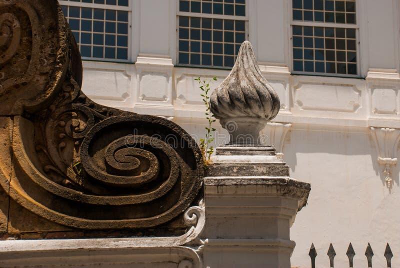 Σαλβαδόρ, Bahia, Βραζιλία: Εκκλησία της διαταγής Terceira de s ο Francisco στο κέντρο πόλεων Σαλβαδόρ DA Bahia στοκ εικόνες
