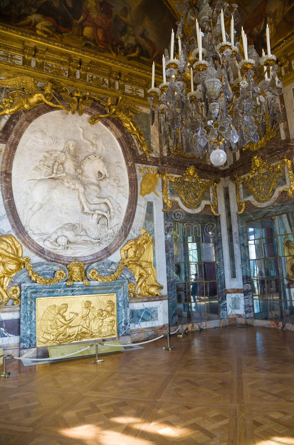 σαλόνι Βερσαλλίες de guerre Λα L στοκ εικόνα με δικαίωμα ελεύθερης χρήσης
