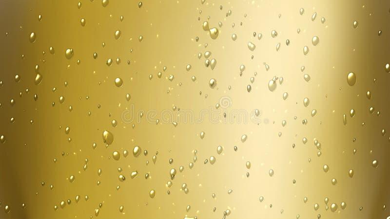 σαμπάνια αεροφυσαλίδων στοκ εικόνα