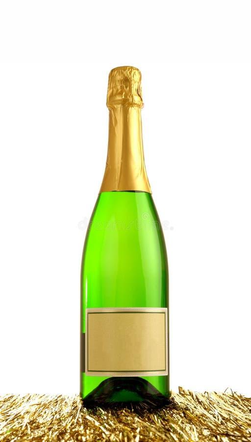 Download σαμπάνια μπουκαλιών στοκ εικόνα. εικόνα από διακοπή, μπαρεττών - 17059325