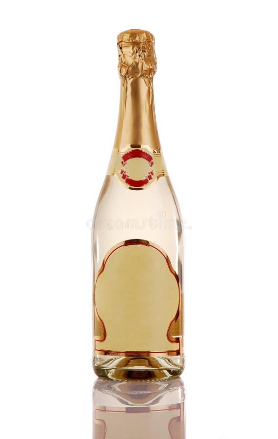 σαμπάνια μπουκαλιών στοκ εικόνα με δικαίωμα ελεύθερης χρήσης